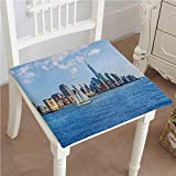 Best SUNBEAM Tower Fans - Mikihome Chair Pads Classic Design Sailboat Manhattan Skyline Review