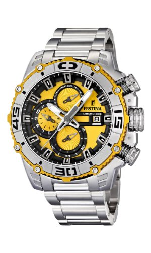 NEW Festina Chronograph Bike TOUR DE FRANCE 2012 Men's Watch F16599/5