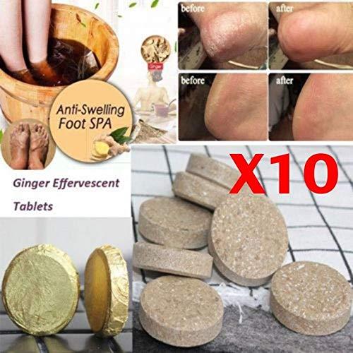 Zooarts 10pcs Anti-Swelling Foot SPA -Detoxifying Antifungal Foot Spa