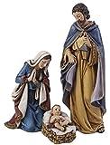 3-Piece Joseph's Studio Holy Family Religious Christmas Nativity Figurine Set