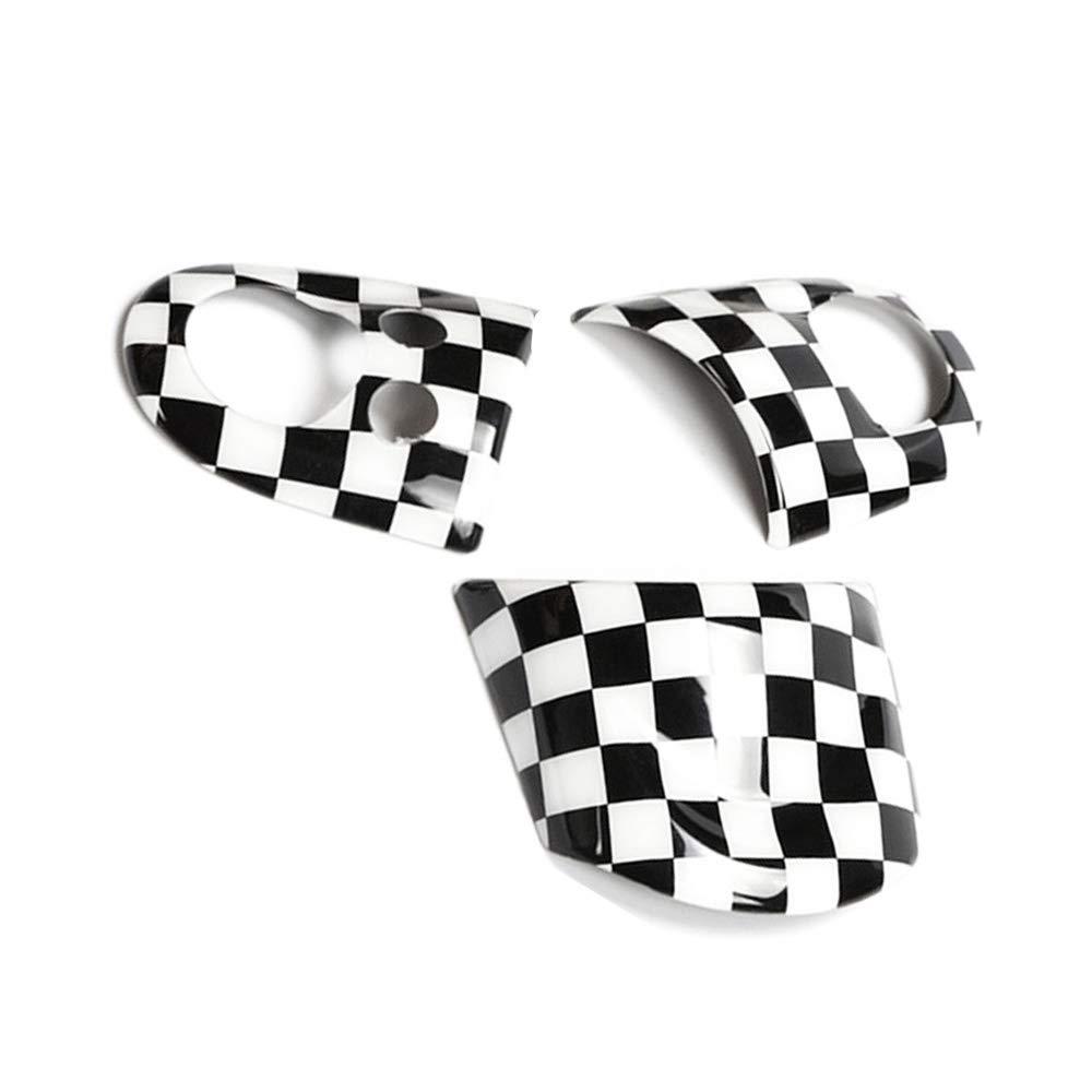 Accesorios de Estilo para Coche para Mini Cooper R55 R56 R57 R58 R59 R60 R61 Countryman Volante salpicadero calcoman/ía para Mini Cooper QIDIAN