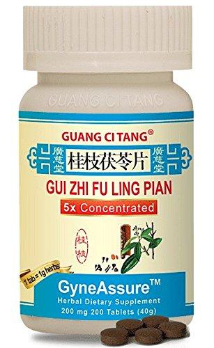Gui Zhi Fu Ling Pian (Wan) (GyneAssure) 200 mg 200 Tablets
