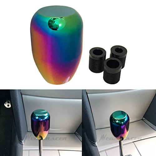 neon chrome shift knob - 6