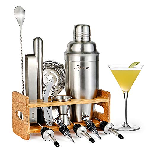 Cocktail Shaker Set Cocktail Shaker - 14 Pcs Cocktail Making Set Professional Cocktail Shakers, Cocktail Shaker  Stainless Steel Cocktail Making Kit, Home Cocktail Bar Set Cocktail Shaker Bar Set.