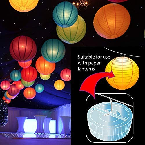 Melon Boy Submersible Led Lights,Underwater Waterproof Bath Lights with Remote Control for Hot Tub,Vase Base,Pond,Pool,Aquarium,Party,Fish Tank,Home Decorations Mood Lights 10pcs by Melon Boy (Image #4)