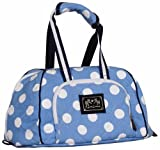 Cheap Equine Couture Emma Hat Bag, Light Blue/Navy, Standard