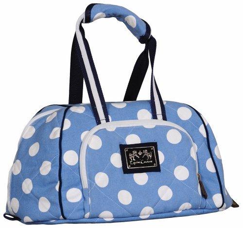 Equine Couture Emma Hat Bag, Light Blue/Navy, Standard