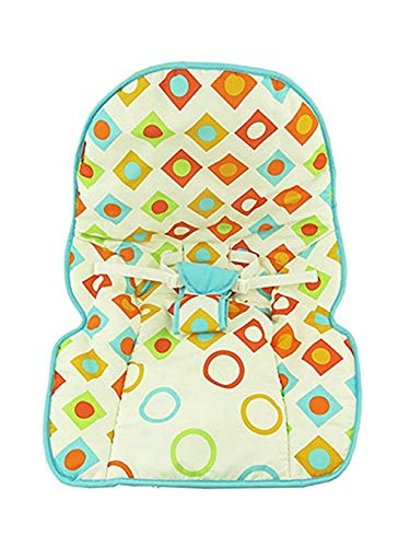 Fisher Price INFANT / NEWBORN TO TODDLER ROCKER Sleeper Replacement Seat Pad , CMP83 GEO DIAMONDS PAD