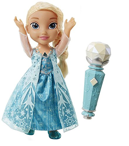 Frozen Elsa Doll Sing A Long Disney Light Up Microphone Kids Toy Girl Gift NEW, Rocket Science Toys, 2018 by ROCKET SCIENCE TOYS (Image #1)
