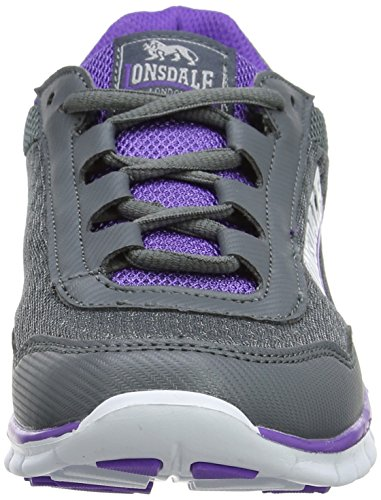 Grau Southwick Multisport Grey Women's Lonsdale Outdoor Purple Shoes FX774x