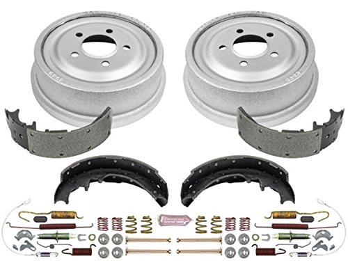 (Power Stop Rear KOE15265DK Daily Driver Drum and Shoe Kits)
