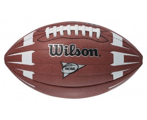 Wilson NCAA Junior Hypergrip Arrow - Balón de fútbol, color marrón Wilson Sporting Goods - Team WTF1863ID