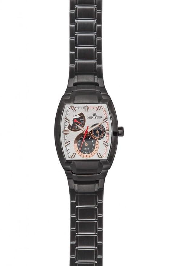 Minister Deportiva-8633 Reloj hombre de pulsera Deportiva-: Amazon.es: Relojes