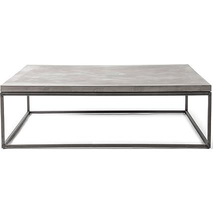 Amazon Com Lyon Beton Perspective Coffee Table Xl Light