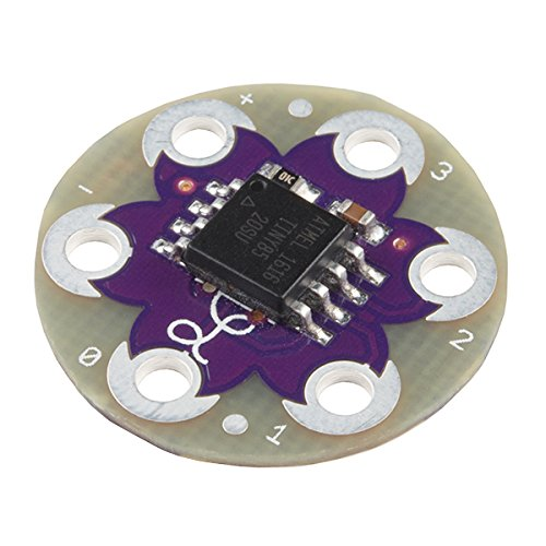 LilyPad LilyTiny - Add special effects to your wearables project. Pre-Programmed to blink and fade-in/fade-out LEDs - Just sew and go!