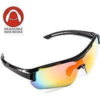 Gafas de Sol Deportivas,CrazyFire UV 400 Protección Gafas