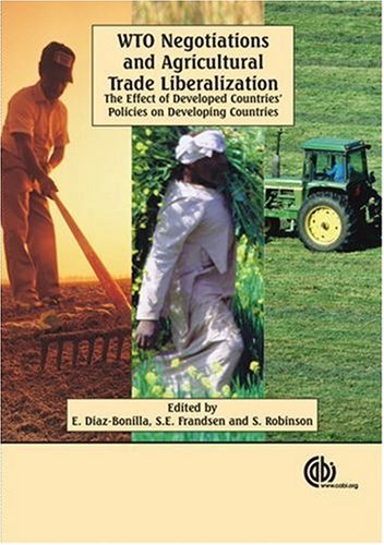 wto negotiations and agricultural trade liberalization the 読書