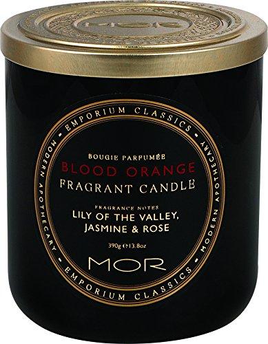 Mor Fragrant Art Candle, Blood Orange