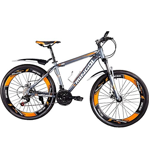 OMAAI 26 in Aluminum Full Suspension Mountain Bike for Men &Women