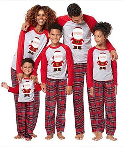 Family Christmas Pajamas Set Family Matching Clothes Xmas ...