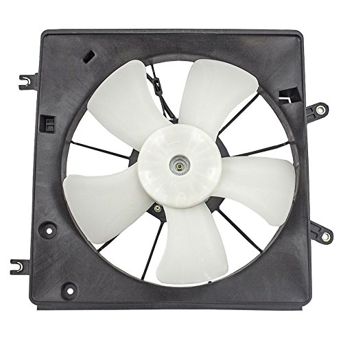 Radiator Cooling Fan Motor Shroud Assembly Replacement for Honda 3.0L 19015-RCA-A01