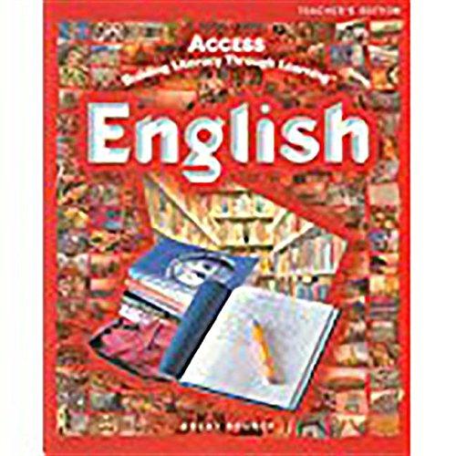 ACCESS English: Student Activities Journal Grades 5-12