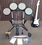 PS3 ROCK BAND 1 Special Edition Bundle Set Drums/Guitar/Mic/Game playstation-3