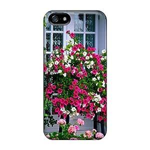 Cute Appearance Cover/tpu Farm House Garden Case For Iphone 5/5s