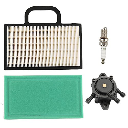 Harbot Air Filter Cartridge with Pre-cleaner Fuel Pump for Husqvarna GTH2448T YTH2242T YTH2348 YTH2448T YTH2454T Law Tractor Mower