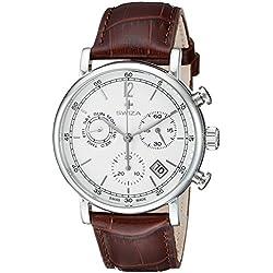 Swiza Men's WAT.0153.1001 Alza Analog Display Swiss Quartz Brown Watch