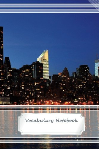 Vocabulary Notebook -City - 2 Columns - 100 lined pages - 6
