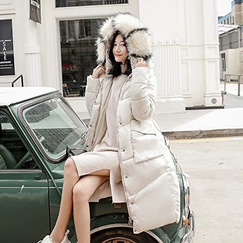 Rétro Veste À Blanc Fourrure Manteau Imprimé Matelassée Chaud Avec Hiver Taille Grande Femme Rembourrée Amuster Femmes Capuche Pour S1wq8xaqv