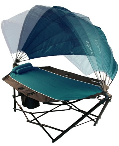Kijaro All in One Hammock (Cayman Blue Iguana), Outdoor Stuffs
