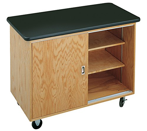 Diversified Woodcrafts 4111KF-RS Economy Mobile Lab Table, 36