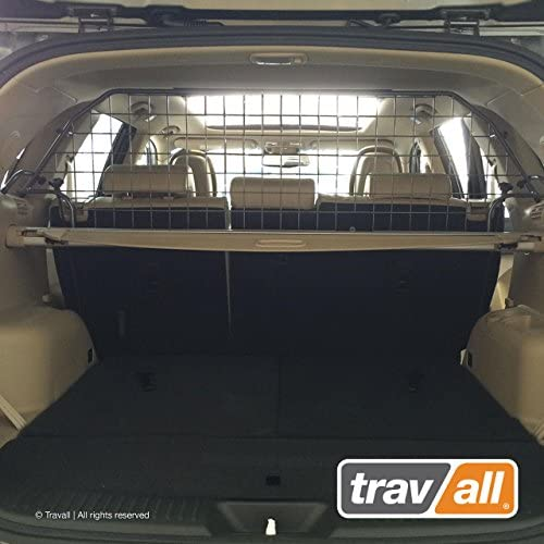 Travall Guard Compatible with KIA Sorento with Sunroof 2009-2014 TDG1391 – Rattle-Free Steel Vehicle Specific Pet Barrier