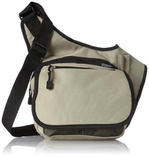 Everest Messenger Bag - Medium, Khaki, One Size ()