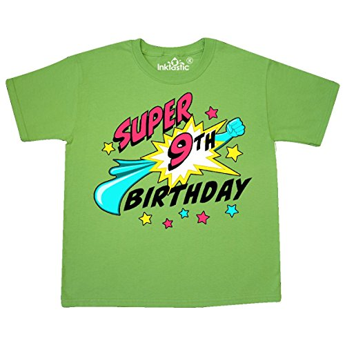 Inktastic Super 9th Birthday Youth T Shirt X Small 2