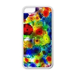 LJF phone case Custom Jellyfish Unique iphone 4/4s Protective Rubber TPU cover