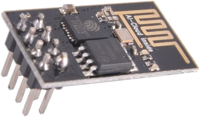 DIYmall ESP8266 ESP-01S WiFi Serial Transceiver Module with 1MB Flash