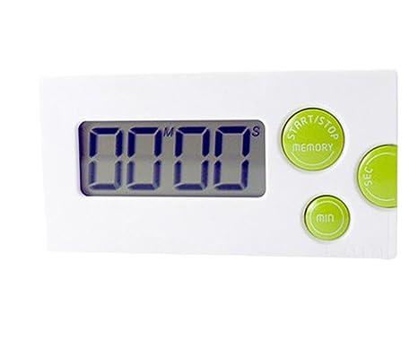 Haodou Temporizador de cocina digital Imán digital Temporizador de cocina Reloj de cuenta atrás con pantalla