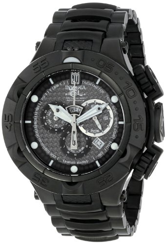 Invicta Men's 14413 Jason Taylor Analog Display Swiss Quartz Black Watch