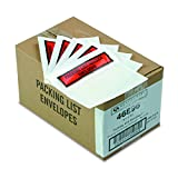 Quality Park 46896 Top Print Self Adhesive Packing List Envelope, 5 1/2 x 4 1/2 (Case of 1000)