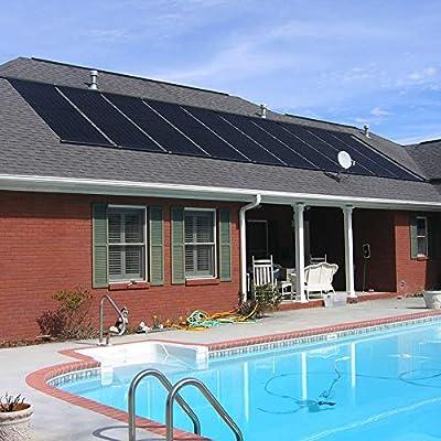 "XtremepowerUS Inground/Above Ground Swimming Pool Solar Panel Heating System 28"" X 20'"