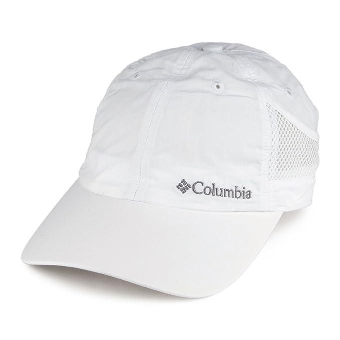 Gorra de béisbol Tech Shade de Columbia - Blanco - Ajustable: Amazon.es: Ropa y accesorios