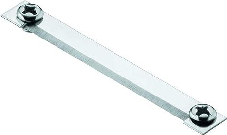 Rösle Ersatzklinge mit 2 Schrauben für Hobel Klingen Klingenspezialstahl 5.2 cm