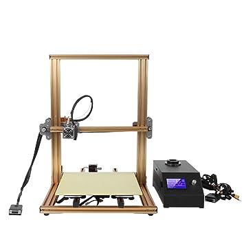Wendry Impresora 3D Kit de Bricolaje, 0.04 mm Alta precisión de ...