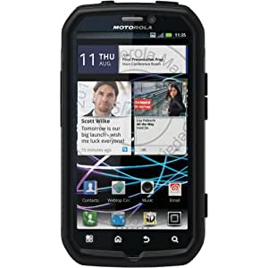 OtterBox Commuter Series Case for Motorola Photon 4G - Retail Packaging - Black (Discontinued by Manufacturer)