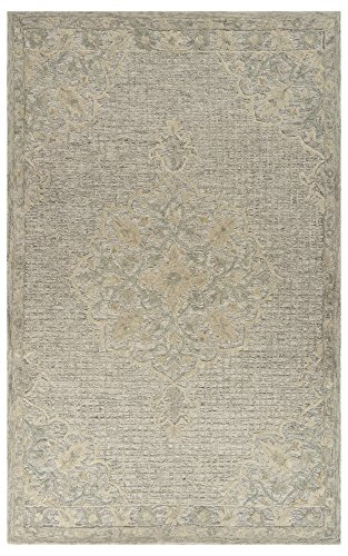 LR Home MODTR81290BEI90C0 Modern Traditions Area Rug, 9 x 12 , Beige