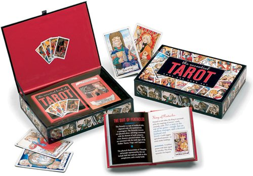 The Essential Tarot Kit: Book and Card Set]()