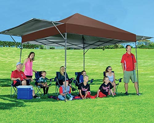 MASTERCANOPY Pop Up Canopy Tent 10×17 FT Instant Canopy